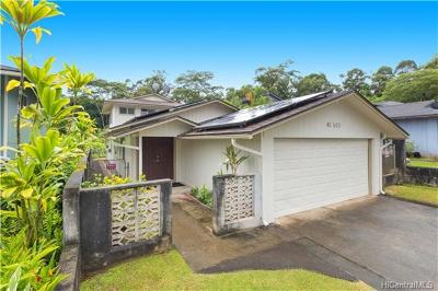 Kaneohe Single Family Home For Sale: 45-502 Lolii Street