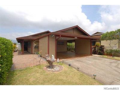 Mililani Single Family Home For Sale: 95-363 Lanikuhana Avenue