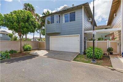 Single Family Home In Escrow Showing: 91-1018d Hoomaka Street #99