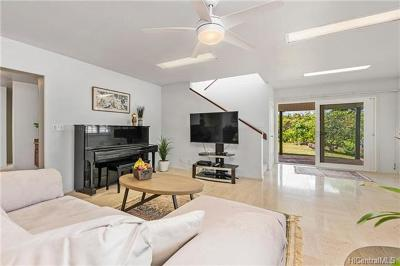 Kaneohe Single Family Home In Escrow Showing: 45-067 Kaneohe Bay Drive #A