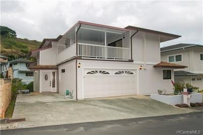 Single Family Home For Sale: 99-797 Holoai Street