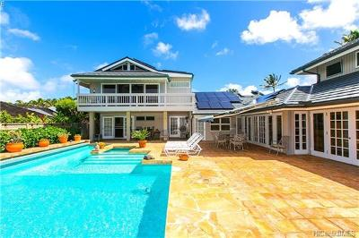 Kailua Single Family Home For Sale: 579 Kaimalino Street