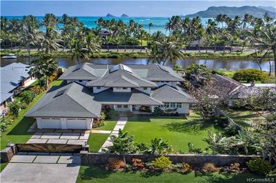 Kailua Single Family Home For Sale: 776 Mokapu Road