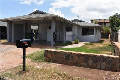 Waipahu Single Family Home In Escrow Showing: 94-749 Kaiao Street