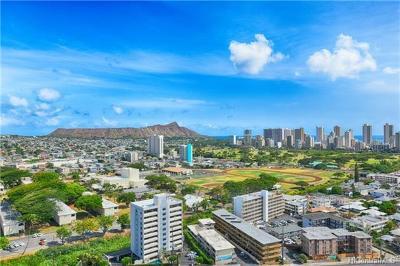 Honolulu Condo/Townhouse For Sale: 2825 S King Street #2401