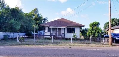 Waialua Single Family Home In Escrow Showing: 67-235 Farrington Highway
