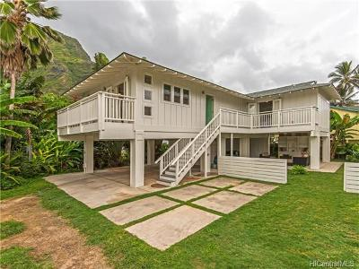 Kaaawa Single Family Home In Escrow Showing: 51-332a Kamehameha Highway