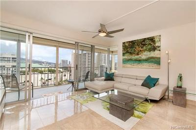 Hawaii County, Honolulu County Condo/Townhouse For Sale: 419 Atkinson Drive #1603