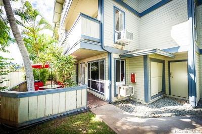 Ewa Beach Condo/Townhouse For Sale: 91-247 Hanapouli Circle #21A