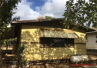 Honolulu County Single Family Home For Sale: 84-964 Hana Street