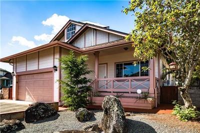 Mililani Single Family Home In Escrow Showing: 95-1018 Hakala Street