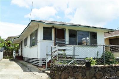 Honolulu Single Family Home In Escrow Showing: 1914 Liliha Street #F