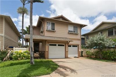 Ewa Beach Single Family Home For Sale: 91-1061 Kamailio Street #5