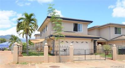 Waianae Single Family Home For Sale: 87-124 Maipalaoa Road