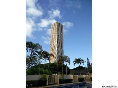 Pearl City Condo/Townhouse For Sale: 1060 Kamehameha Highway #803B