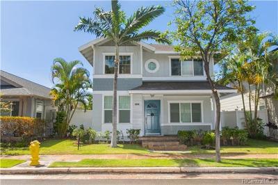 Ewa Beach Single Family Home For Sale: 91-1031 Kaihohonu Street