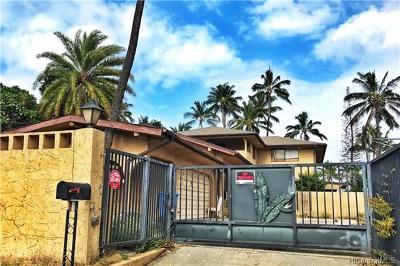 Single Family Home For Sale: 87-597 Farrington Highway