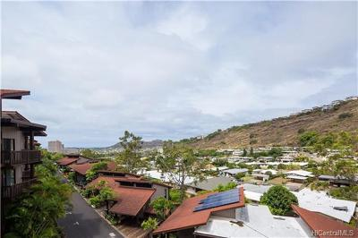 Honolulu County Condo/Townhouse In Escrow Showing: 1487 Hiikala Place #34
