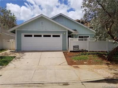 Waianae Single Family Home In Escrow Showing: 87-1001 Ahekai Street