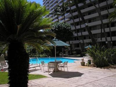 Honolulu Condo/Townhouse In Escrow Showing: 425 Ena Road #807A