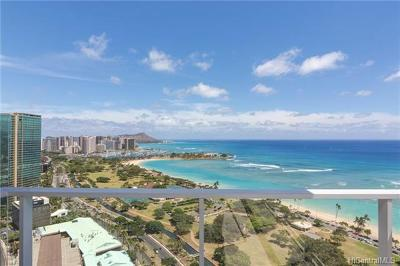 Honolulu Condo/Townhouse For Sale: 1118 Ala Moana Boulevard #2900