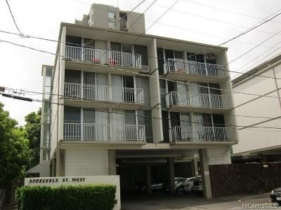 Honolulu Condo/Townhouse For Sale: 1520 Spreckels Street #409