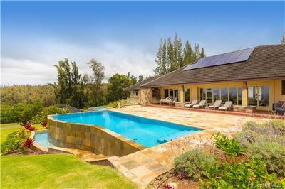 Haleiwa Single Family Home For Sale: 59-469 Makana Road