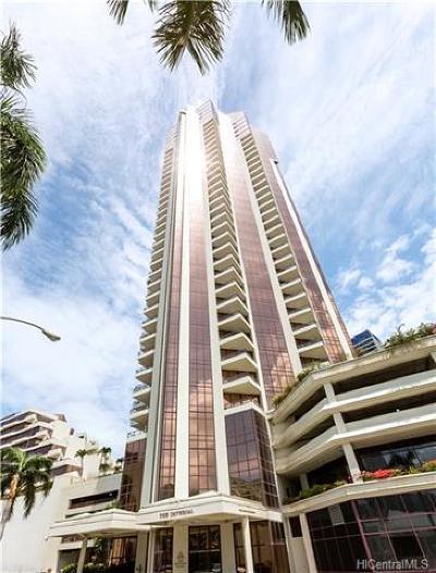 Honolulu County Condo/Townhouse For Sale: 725 Kapiolani Boulevard #3301