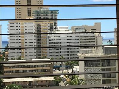 Honolulu Condo/Townhouse For Sale: 2465 Ala Wai Boulevard #802