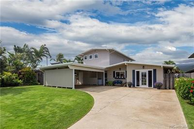 Kailua HI Single Family Home In Escrow Showing: $1,350,000
