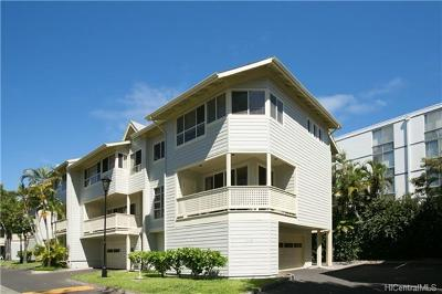 Honolulu County Condo/Townhouse For Sale: 1340d Moanalualani Place #4D