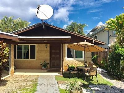 Haleiwa Single Family Home For Sale: 59-015 Hoalua Street