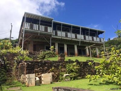 Kaneohe Single Family Home For Sale: 47-335 Mawaena Street