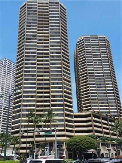 Honolulu Condo/Townhouse For Sale: 1778 Ala Moana Boulevard #2204