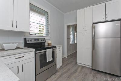 Honolulu Single Family Home For Sale: 719 Kaaloa Street