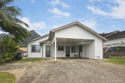 Kaneohe Single Family Home For Sale: 45-538 Keaahala Road