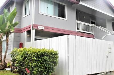 Mililani Condo/Townhouse For Sale: 95-1175 Makaikai Street #163