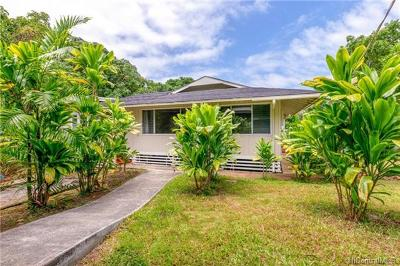 Kaneohe HI Single Family Home For Sale: $1,150,000