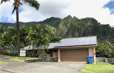 Kaneohe HI Single Family Home For Sale: $1,125,000