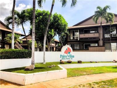 Condo/Townhouse For Sale: 91-1050 Puamaeole Street #8D
