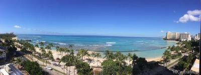 Hawaii County, Honolulu County Condo/Townhouse For Sale: 2500 Kalakaua Avenue #1001