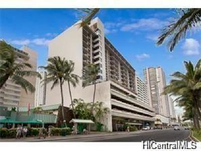 Honolulu Condo/Townhouse For Sale: 1850 Ala Moana Boulevard #321