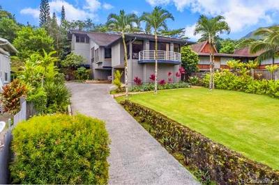 Kailua HI Single Family Home For Sale: $1,549,000