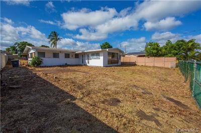 Ewa Beach Single Family Home For Sale: 91-538 Aikanaka Road