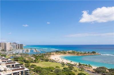 Honolulu Condo/Townhouse For Sale: 1350 Ala Moana Boulevard #3012