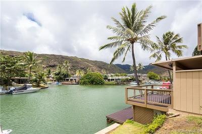 Condo/Townhouse In Escrow Showing: 6370 Hawaii Kai Drive #28