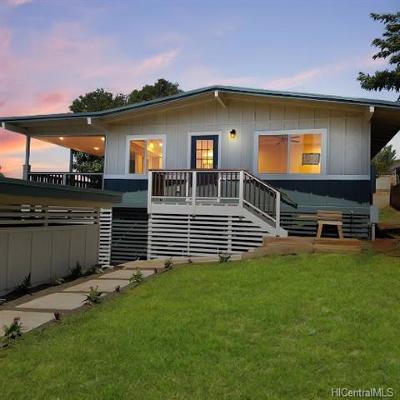 Single Family Home For Sale: 92-734 Nohopaa Street