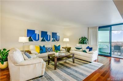 Honolulu County Condo/Townhouse In Escrow Showing: 66 Queen Street #2504