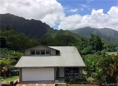 Kaneohe HI Single Family Home For Sale: $888,888