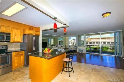 Hawaii County, Honolulu County Condo/Townhouse For Sale: 1717 Ala Wai Boulevard #806
